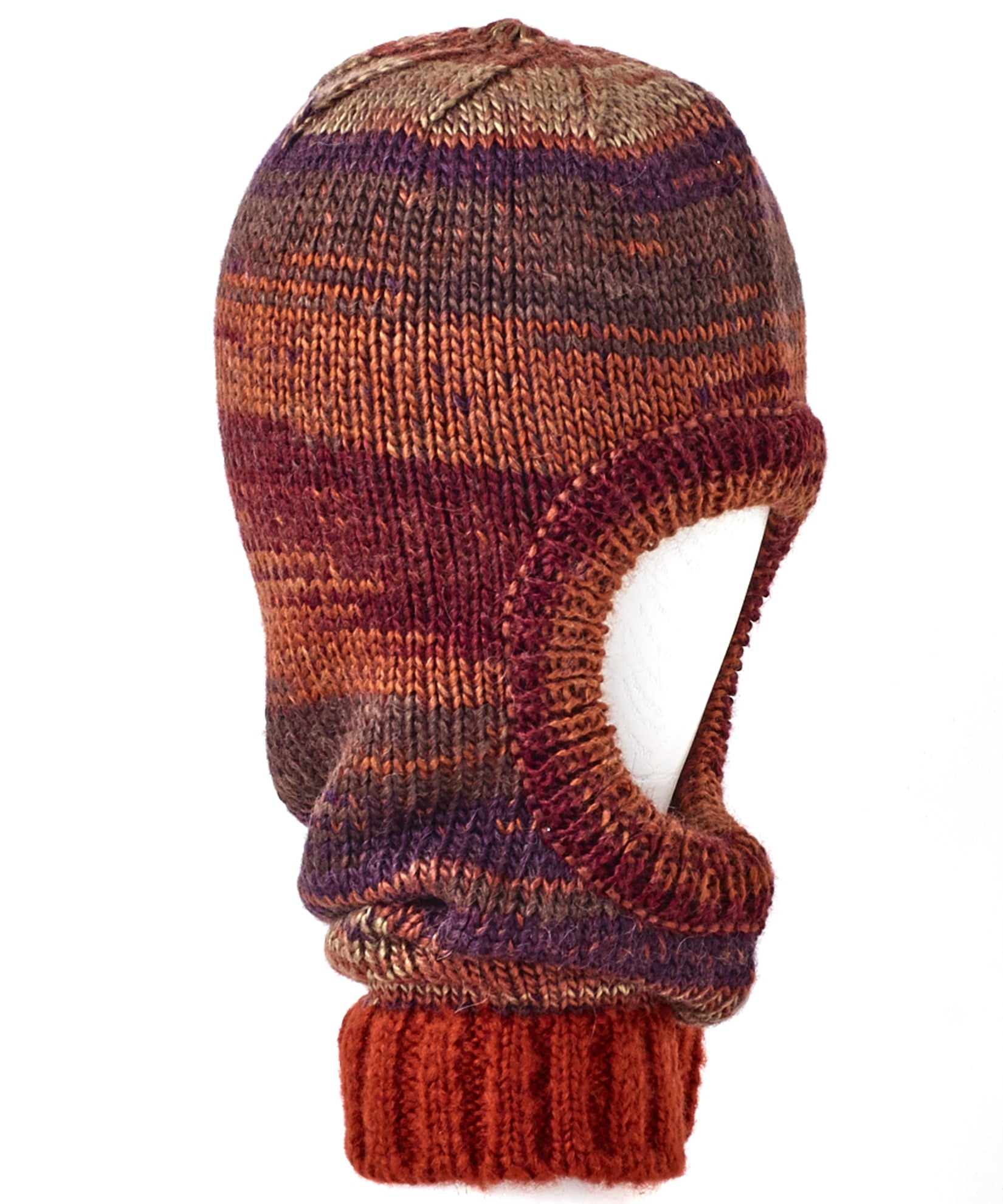 Pickled Beet - Space Dye Balaclava