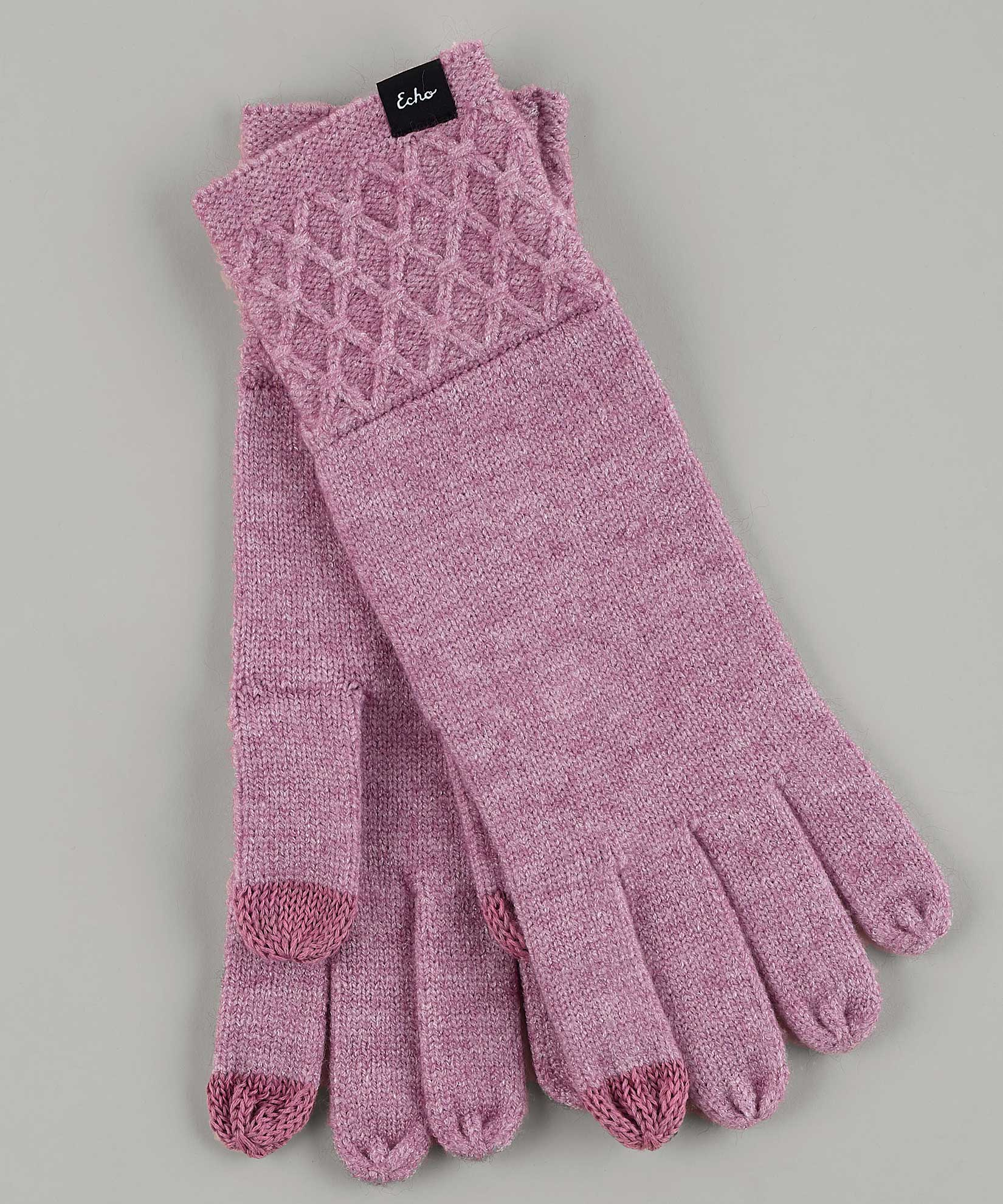 Orchid - Diamond Glove With Cuff