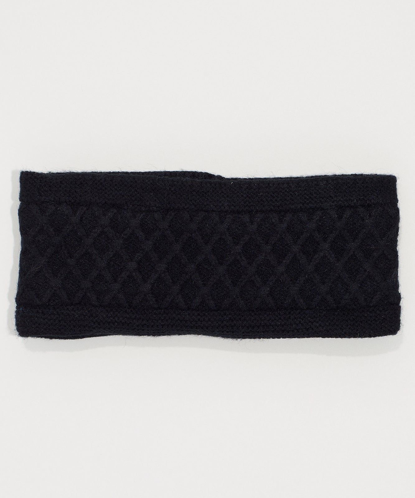 Echo Black - Diamond Cable Headband