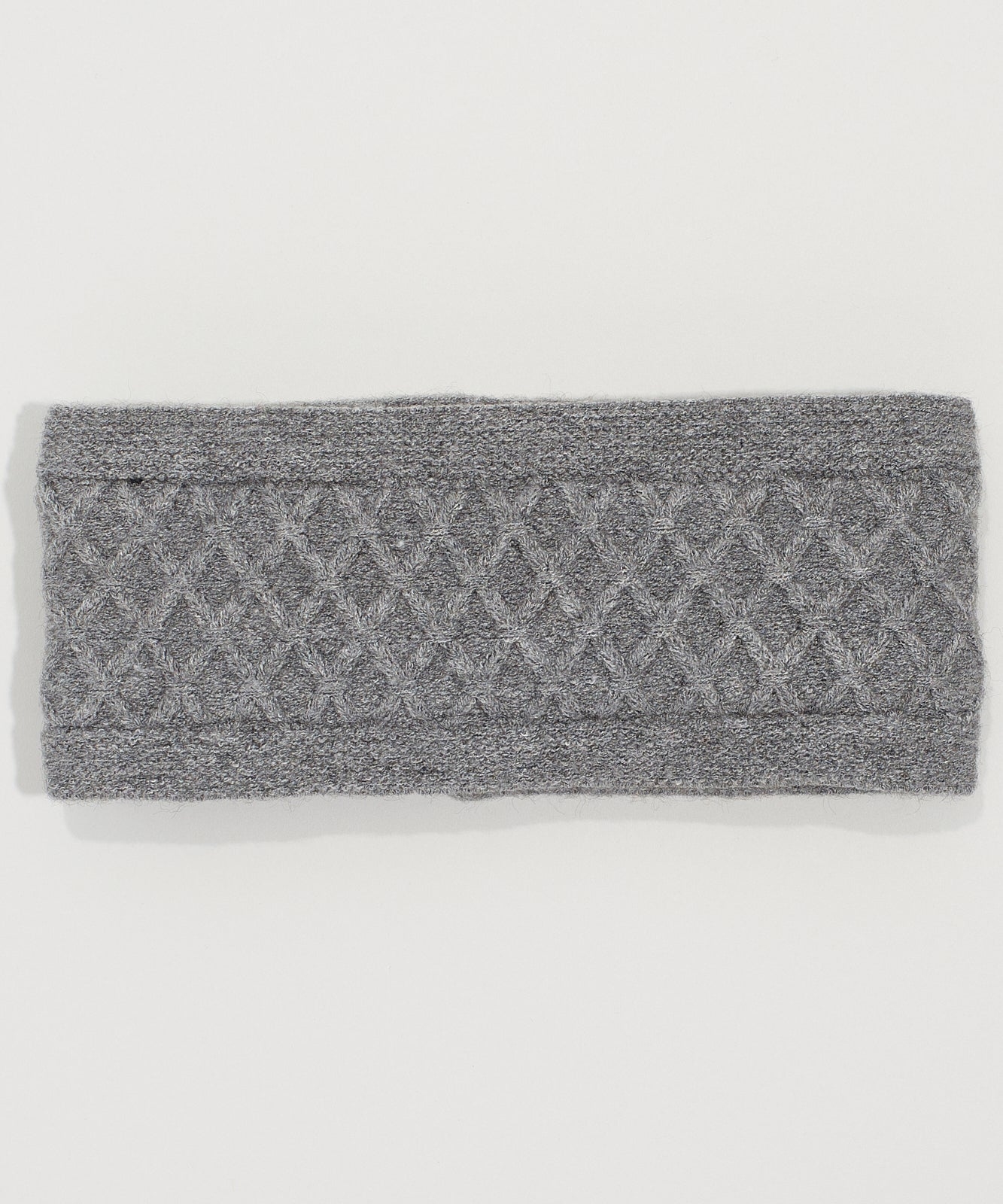 Echo Charcoal - Diamond Cable Headband
