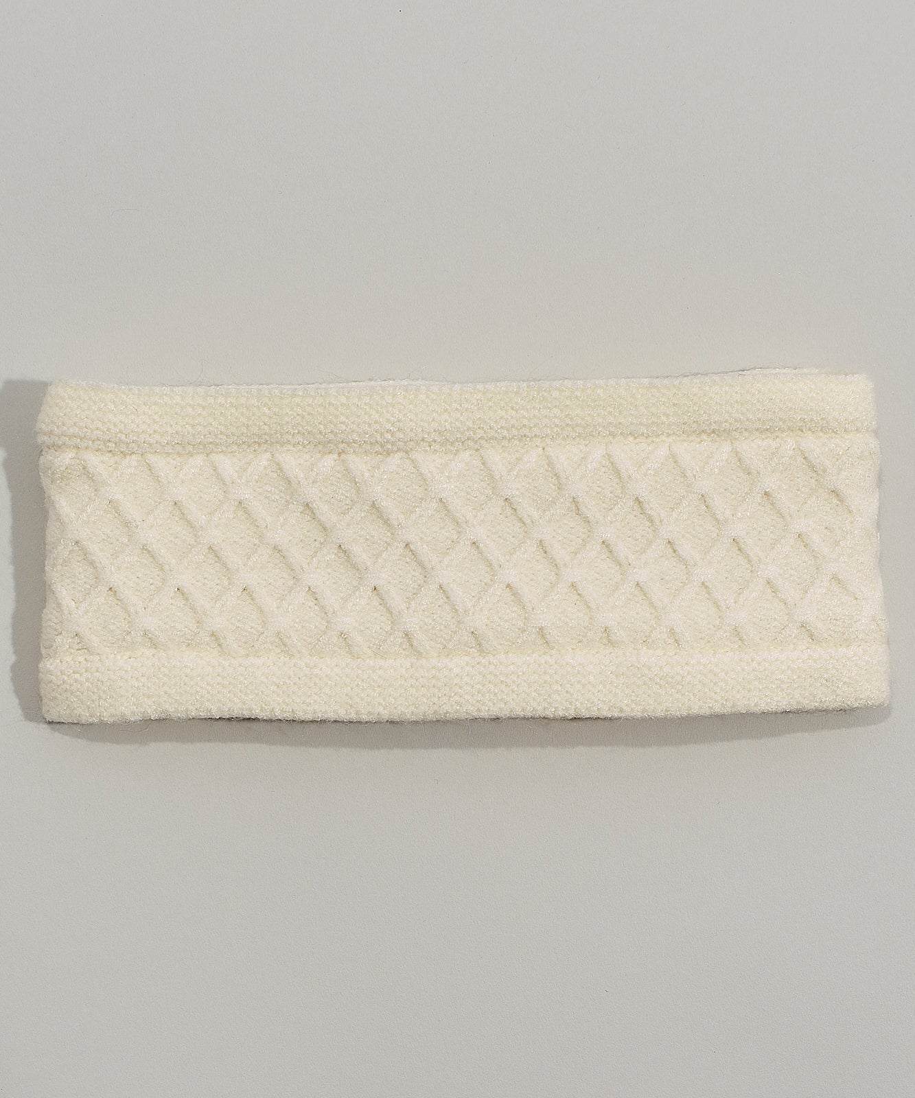Cream - Diamond Cable Headband