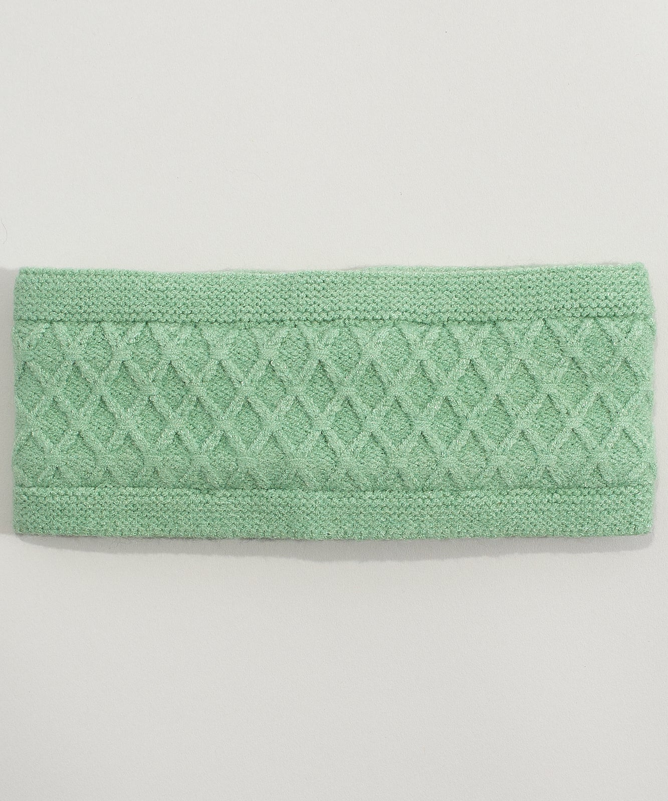 Jade Mint - Diamond Cable Headband