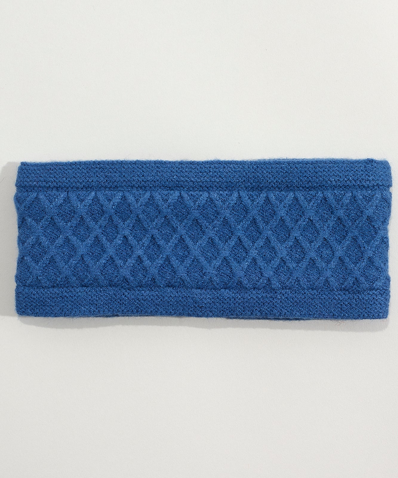 Denim Blue - Diamond Cable Headband