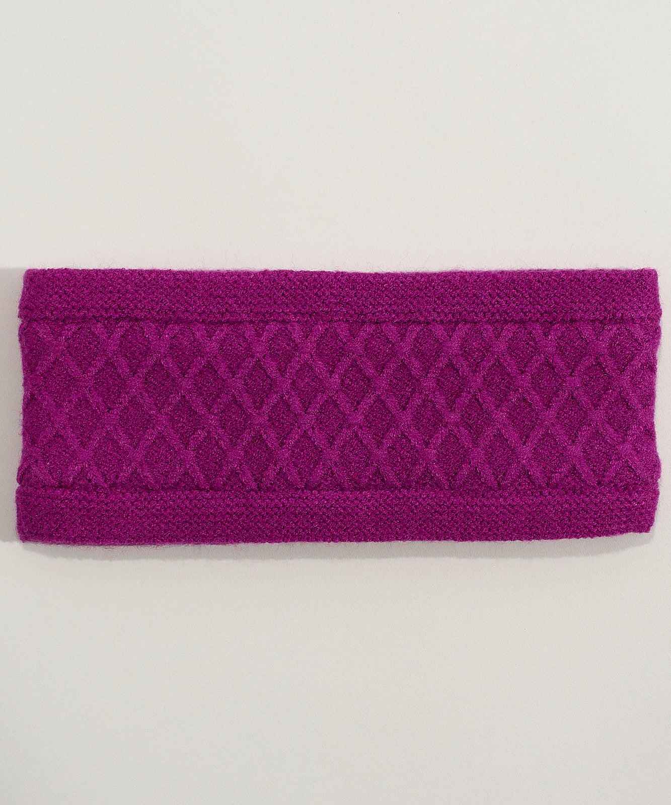 Winter Viola Dillard's - Diamond Cable Headband