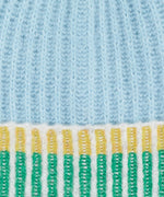 Sky Blue - Lollipop Beanie With Pom