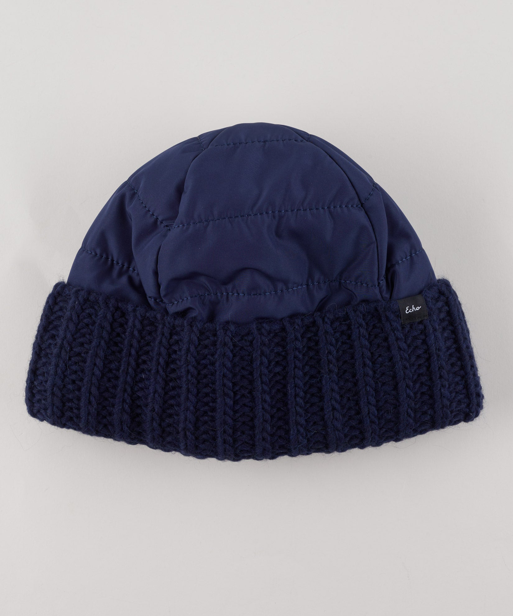 Echo Navy - Reversible Beanie
