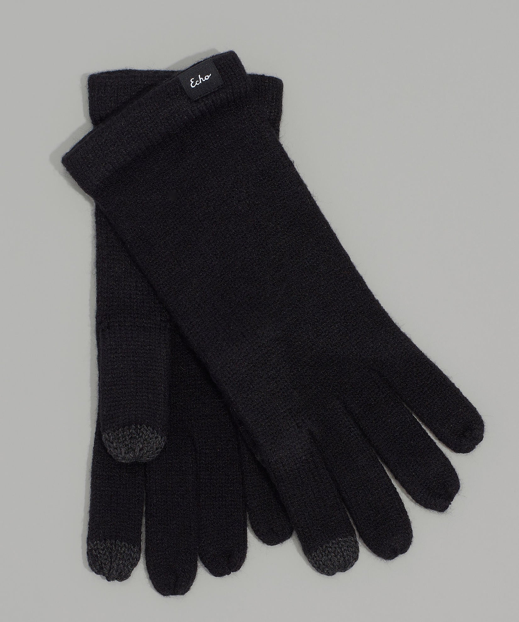 Echo Black - Echo Touch Glove With Tipped Edge