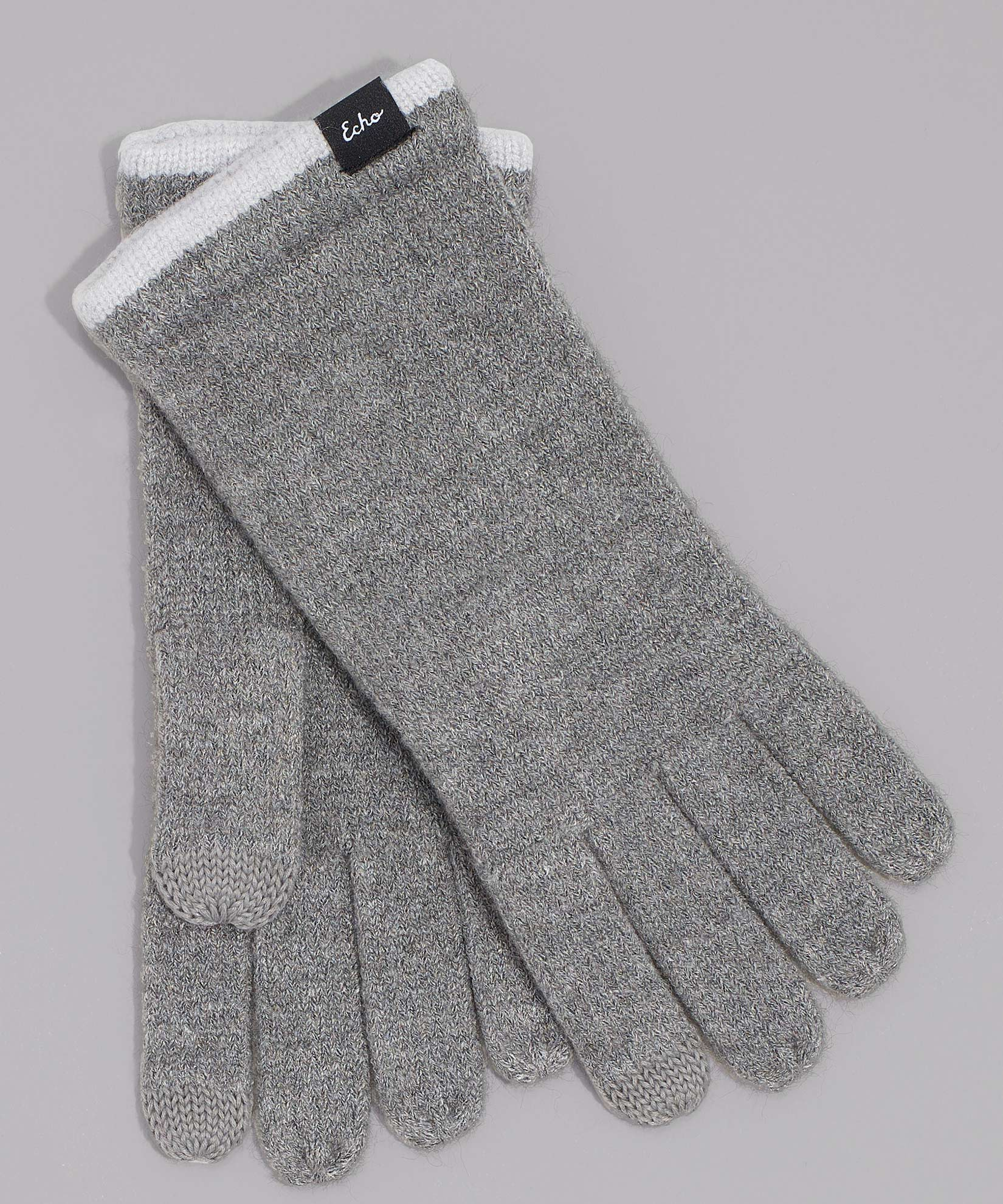 Echo Charcoal - Echo Touch Glove With Tipped Edge