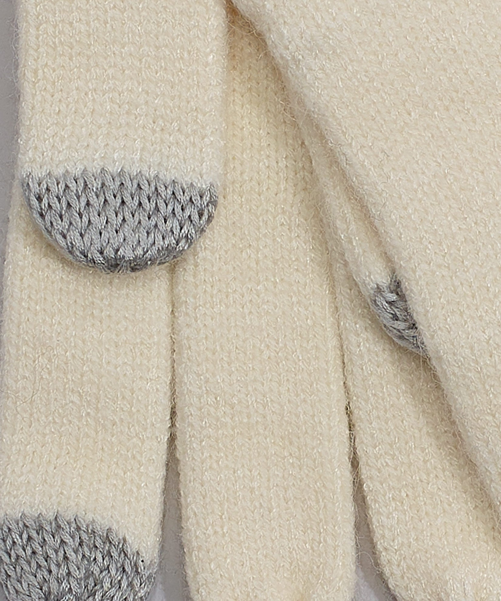 Cream - Echo Touch Glove With Tipped Edge