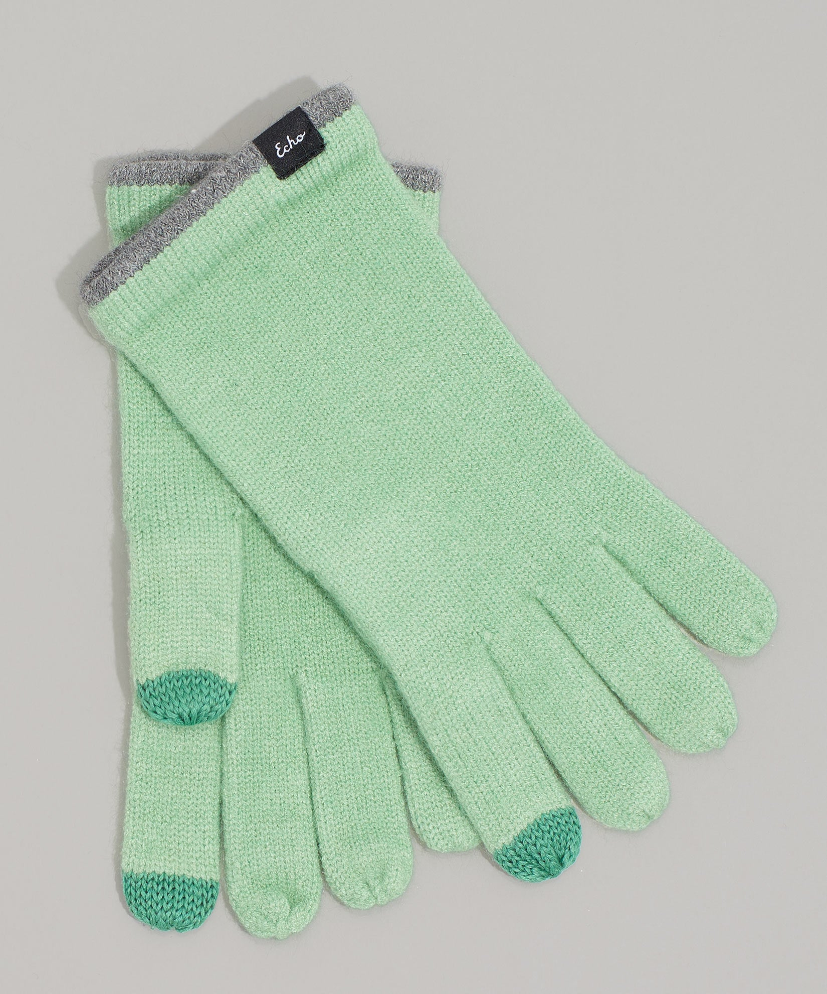 Jade Mint - Echo Touch Glove With Tipped Edge