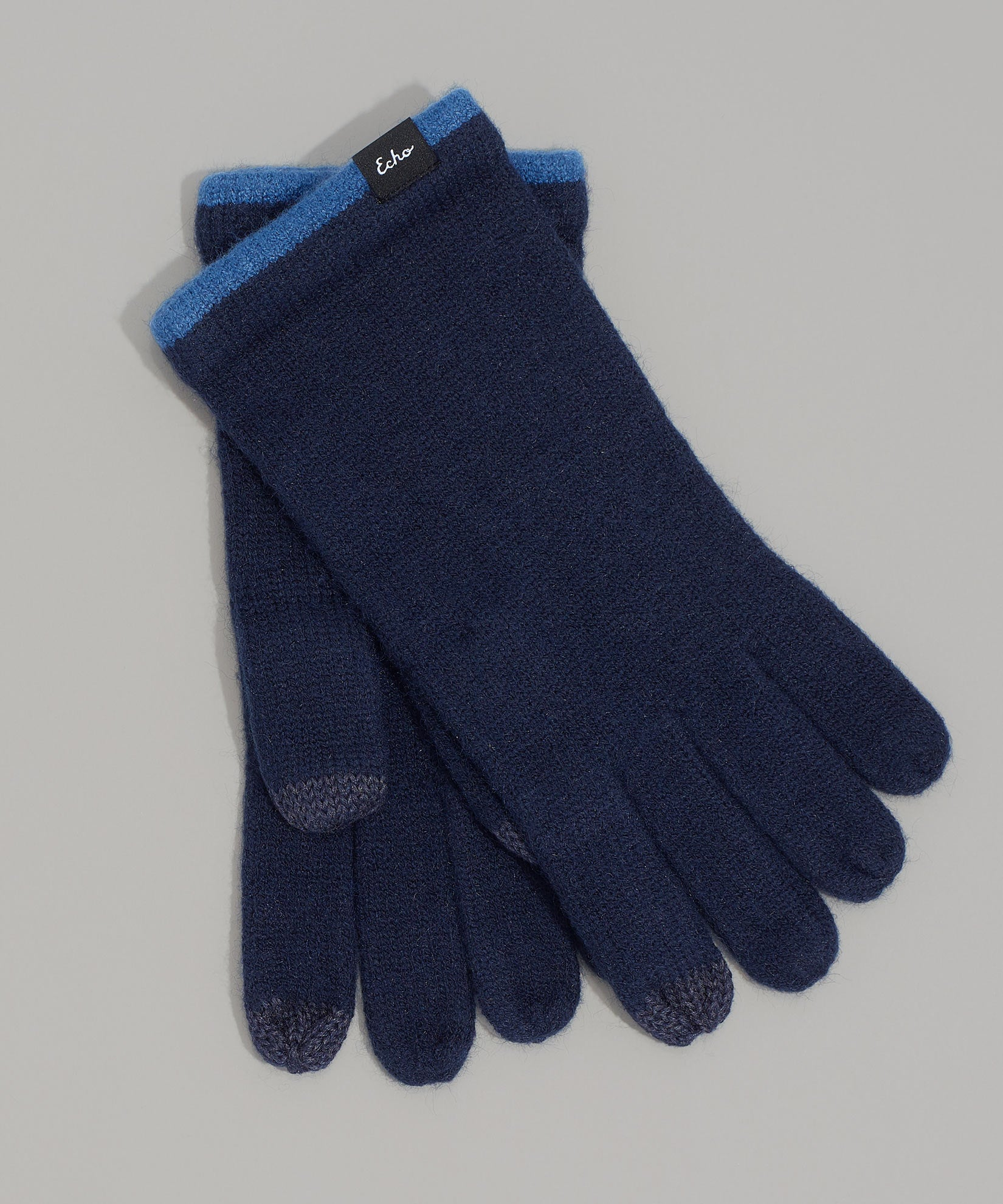 Echo Navy - Echo Touch Glove With Tipped Edge