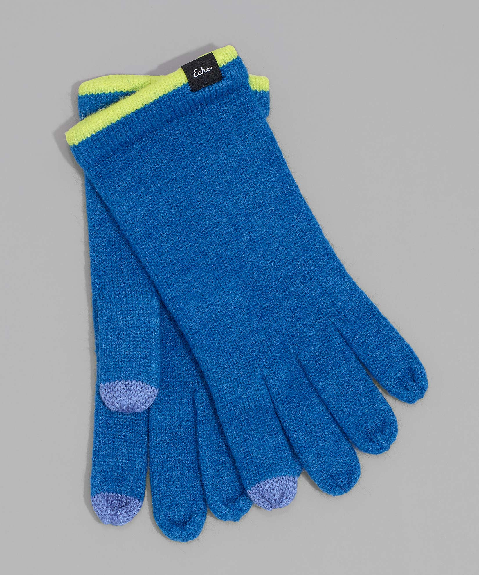 Lapis Blue - Echo Touch Glove With Tipped Edge