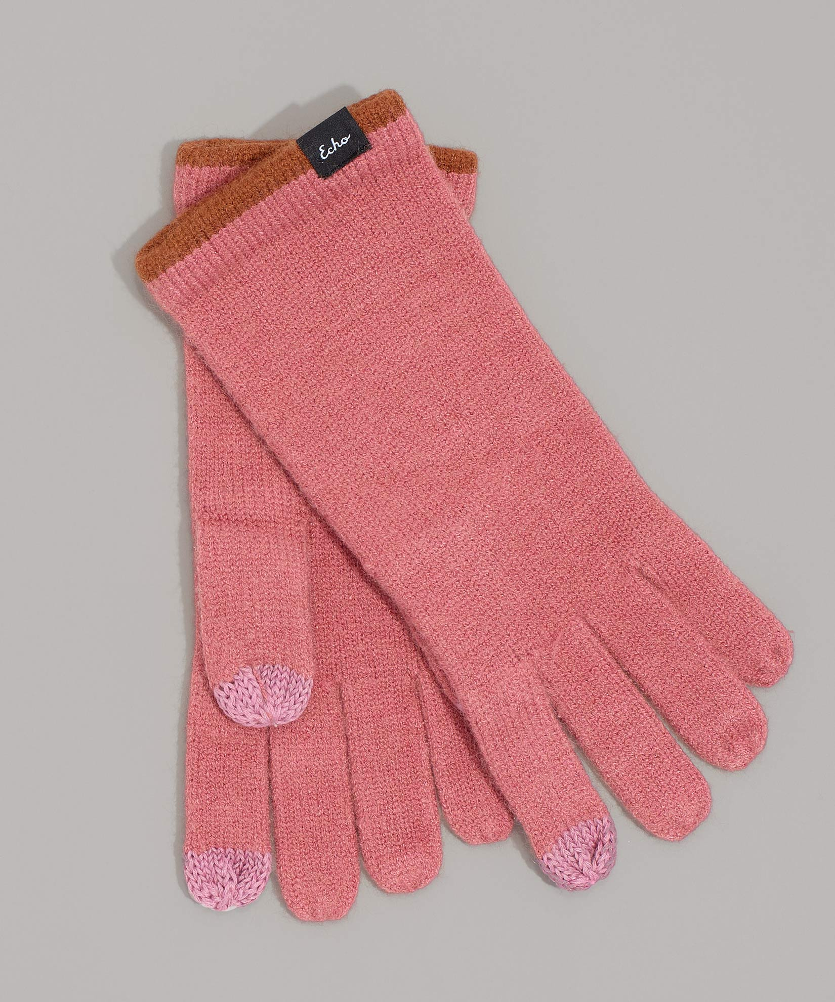 Rose Gold - Echo Touch Glove With Tipped Edge