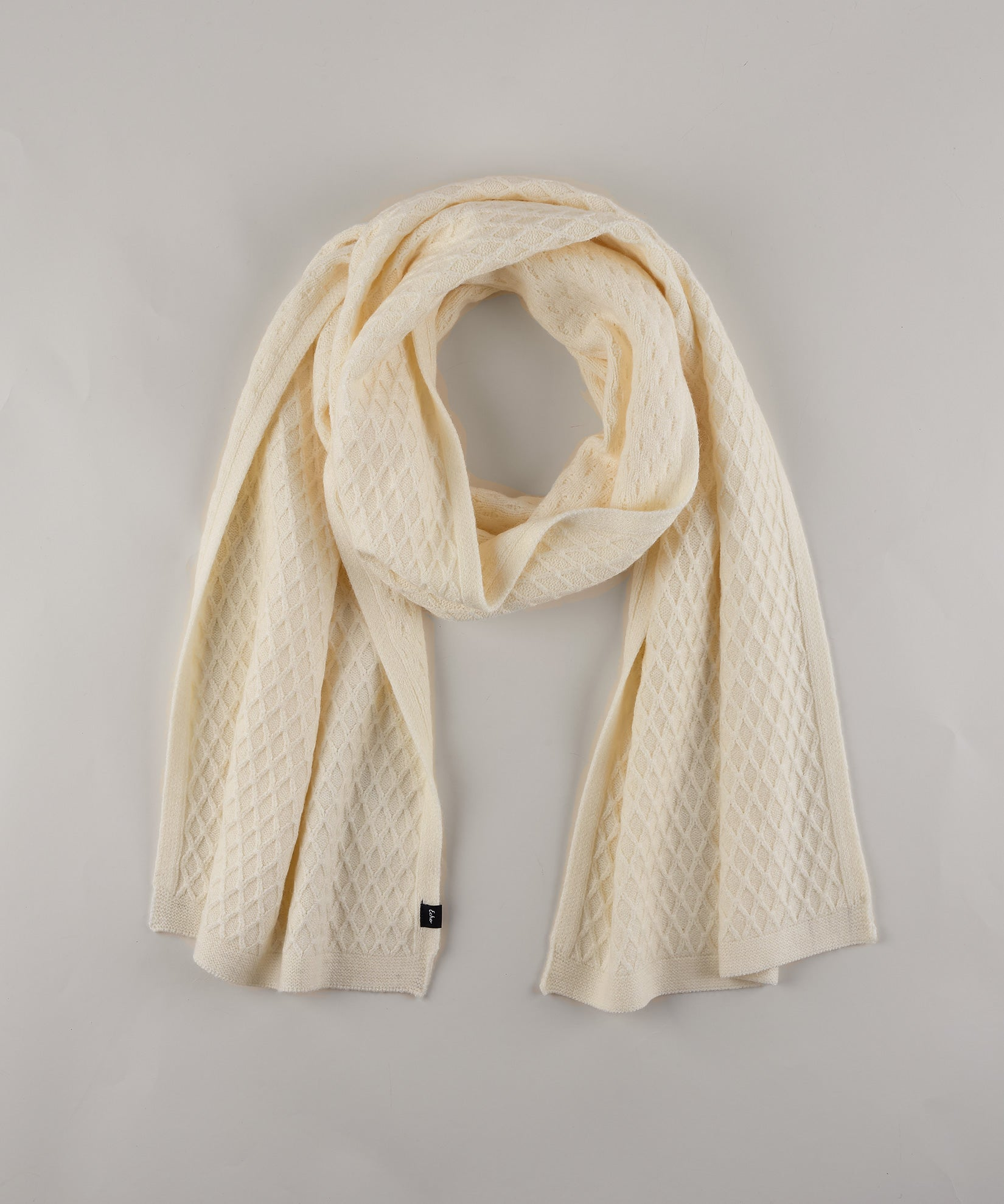 Cream - Diamond Textured Muffler