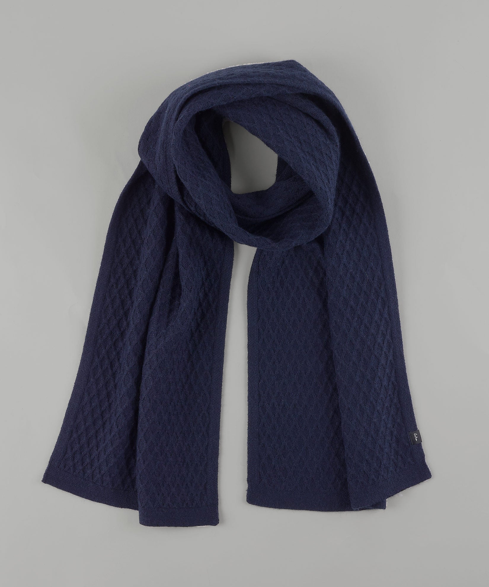 Echo Navy - Diamond Textured Muffler