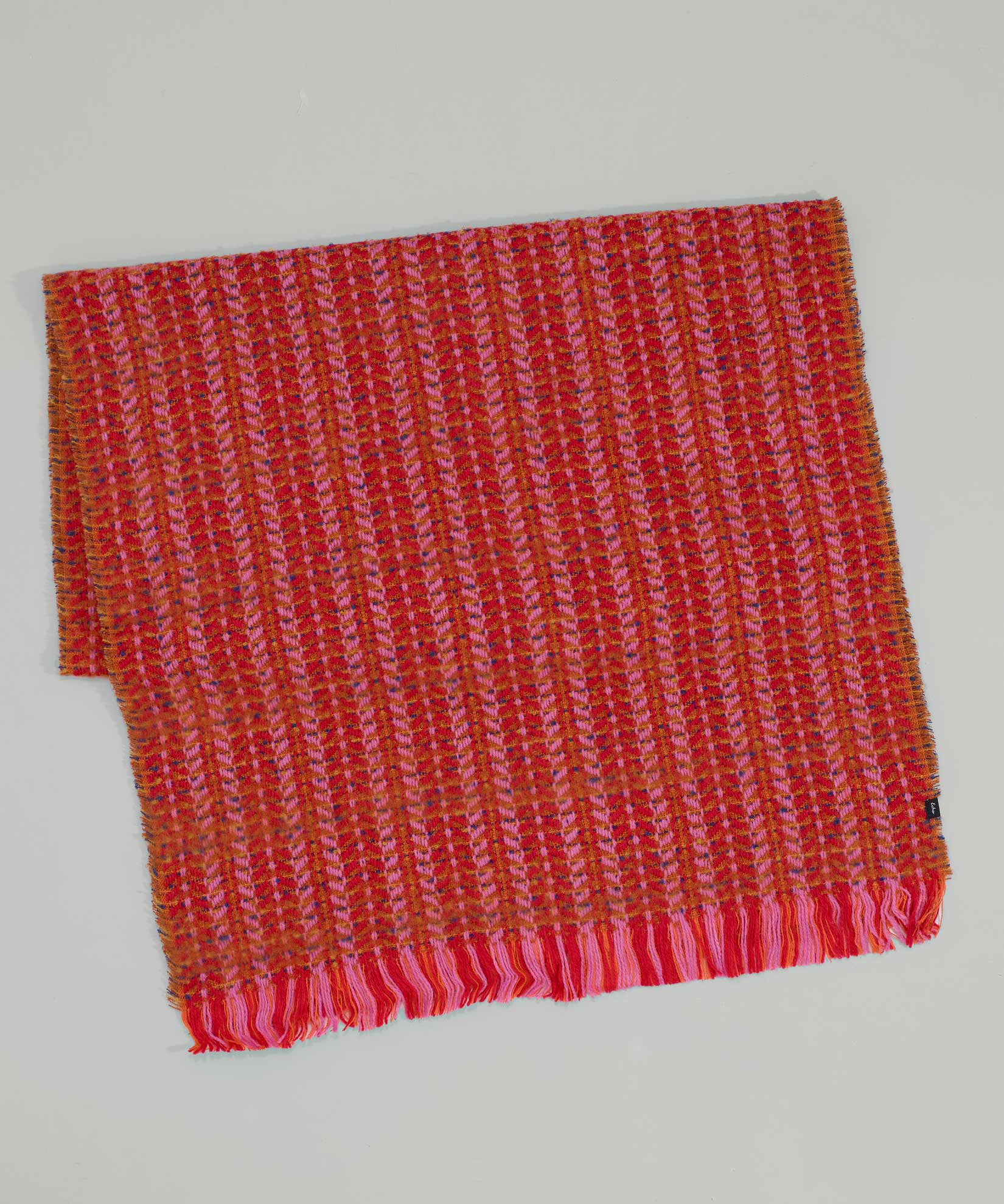 Cherry Red - Multistitch Oblong