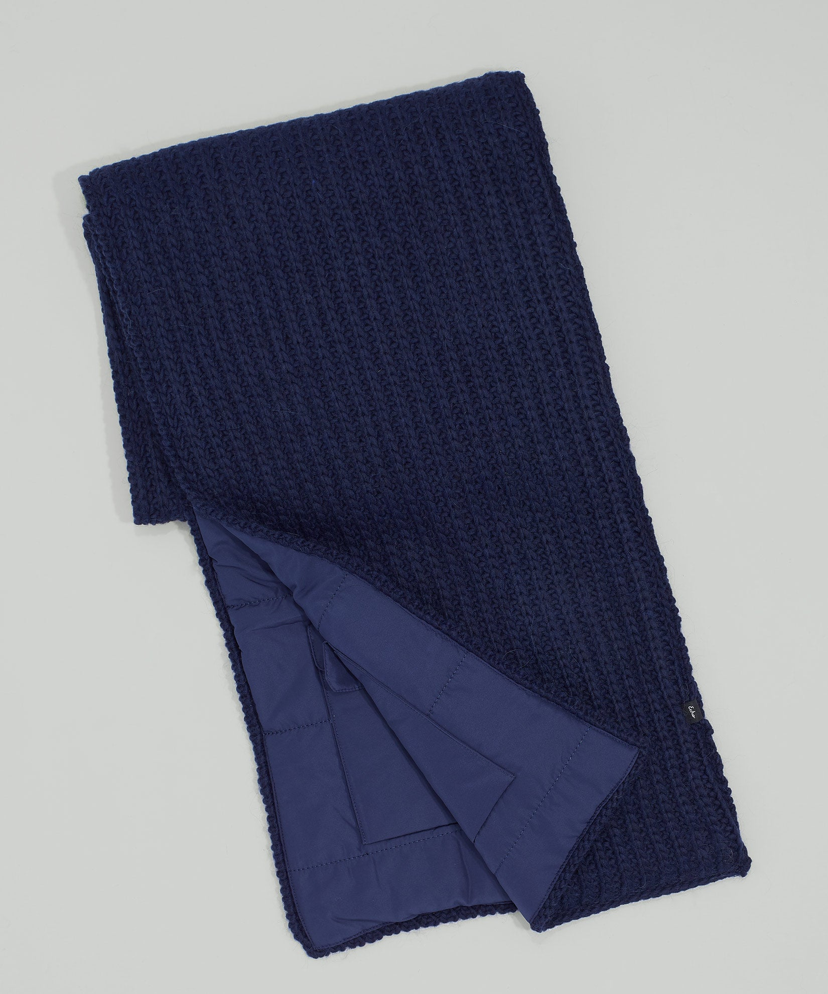 Echo Navy - Reversible Muffler With Pockets