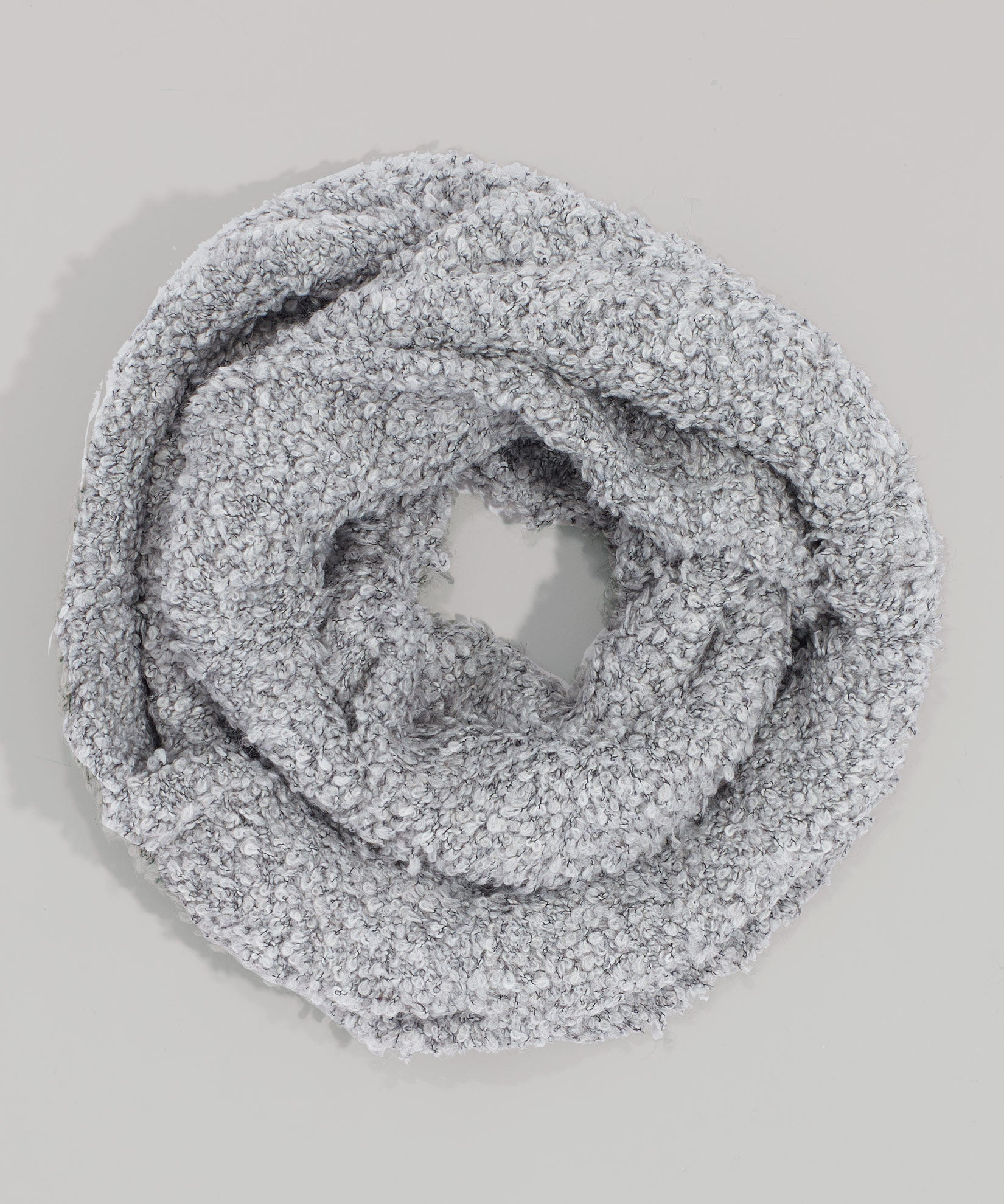 Echo Silver - Boucle Double Layered Snood