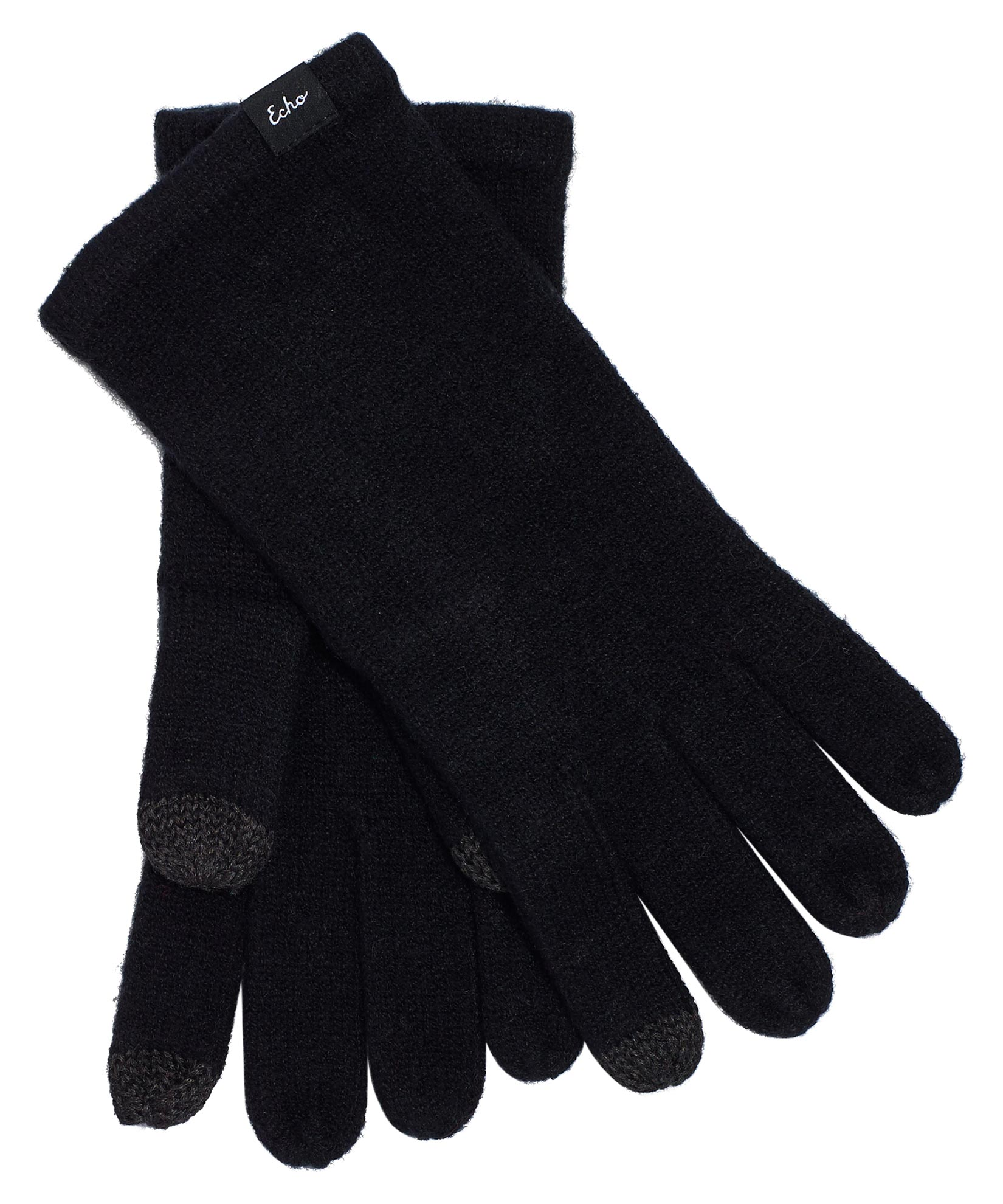 Echo Black - Echo Knit Touch Glove