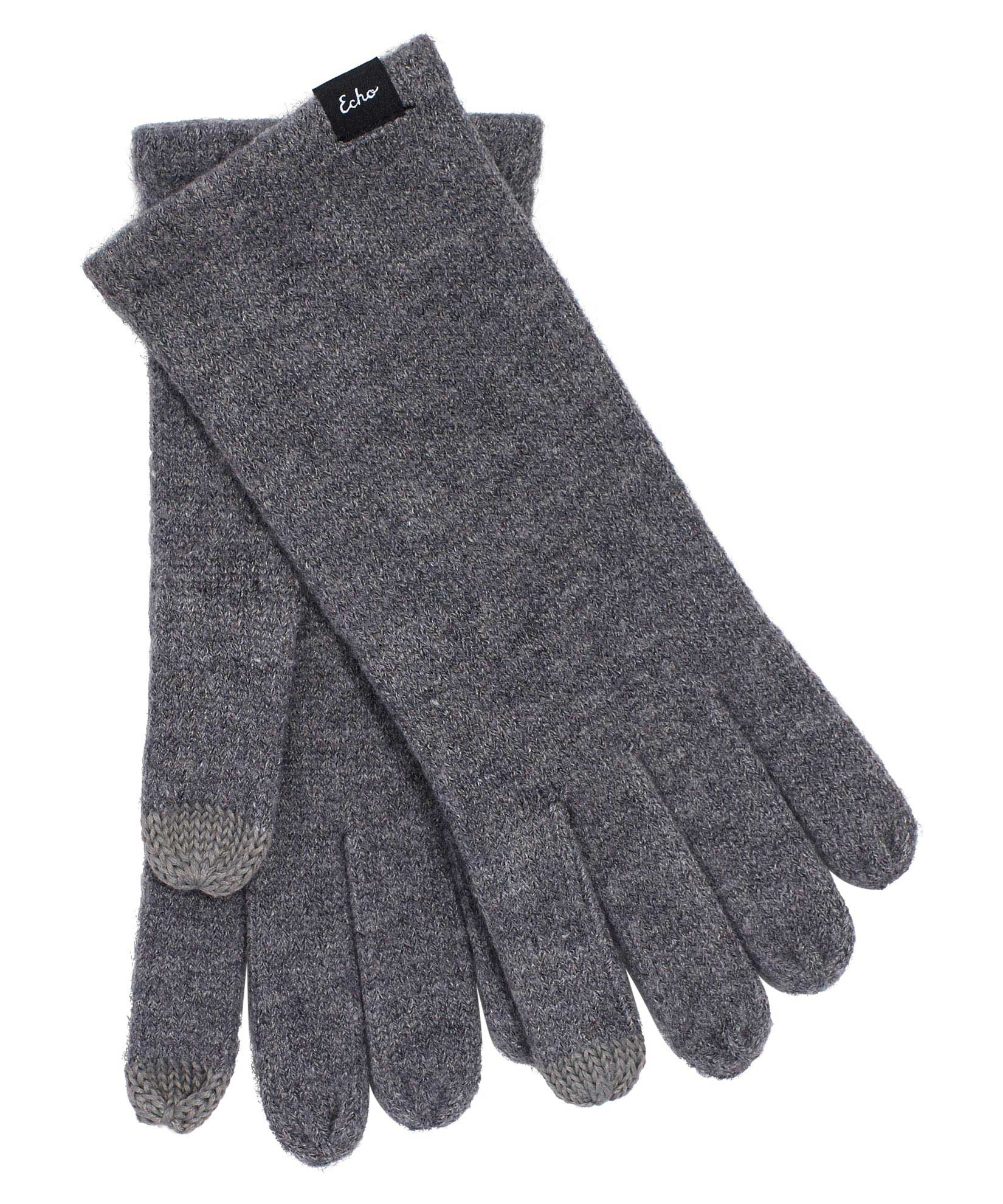 Heather Grey - Echo Knit Touch Glove