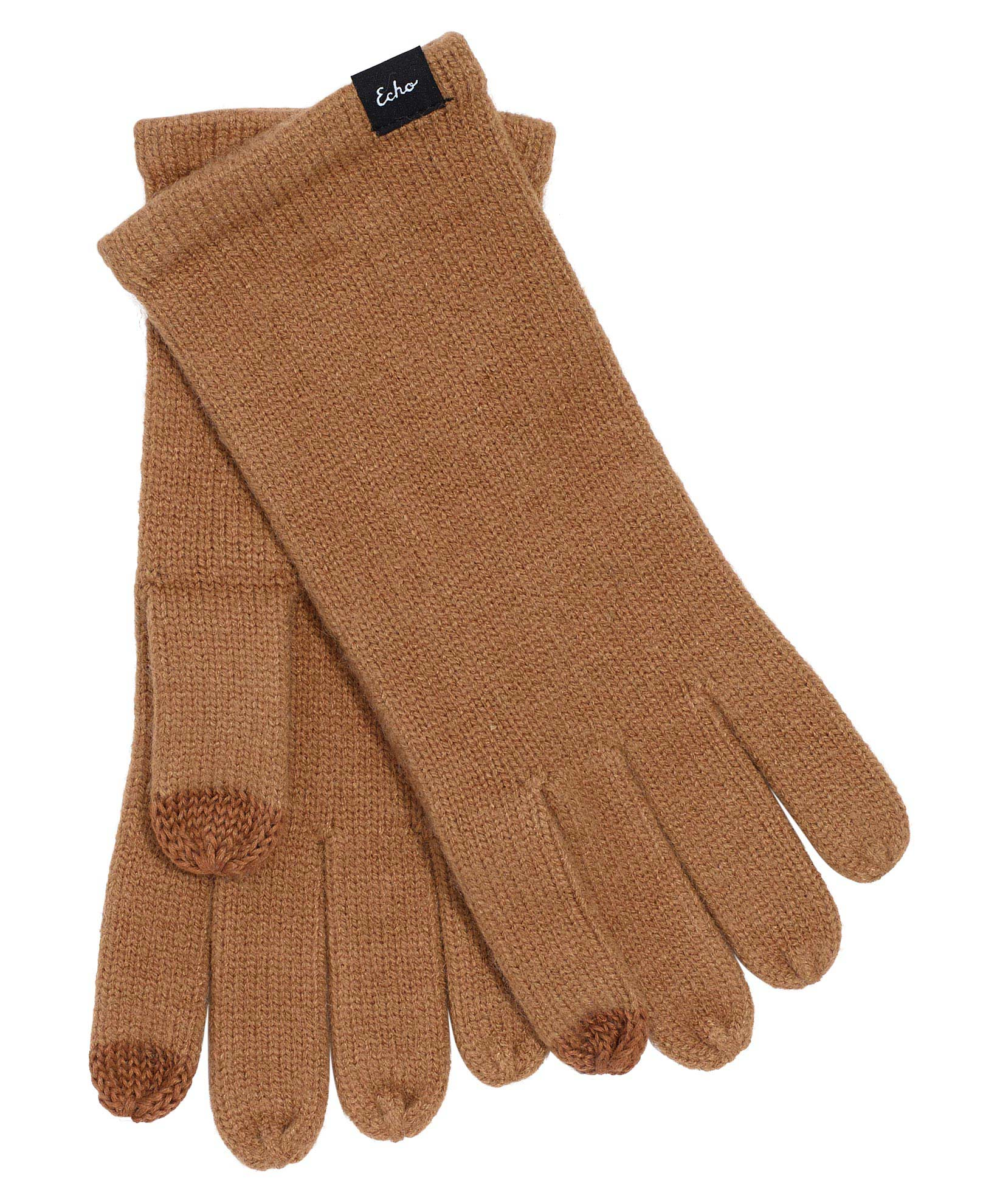 Camel - Echo Knit Touch Glove