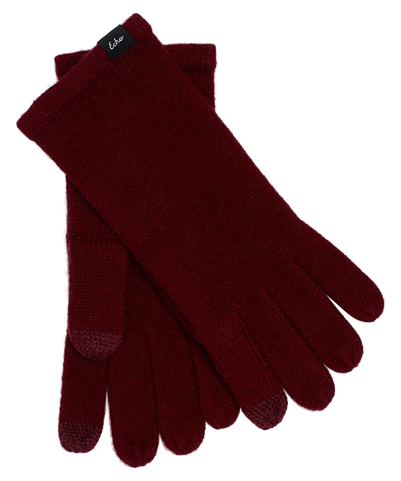 Garnet - Echo Knit Touch Glove