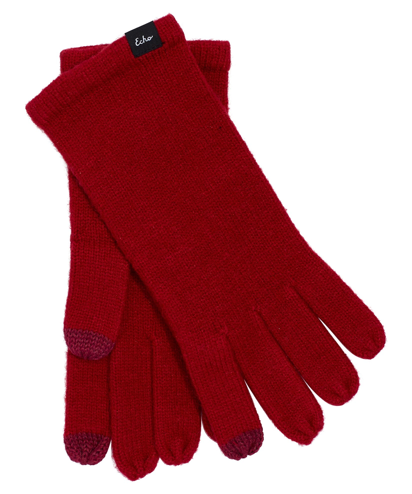 Ruby Red - Echo Knit Touch Glove