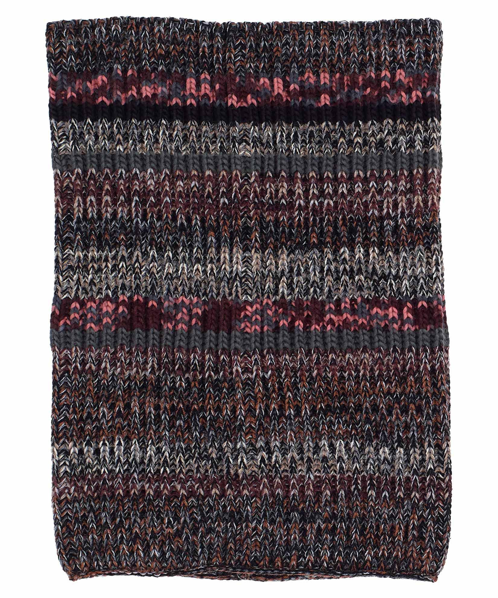 Black Multi - Crazy Marl Scarf