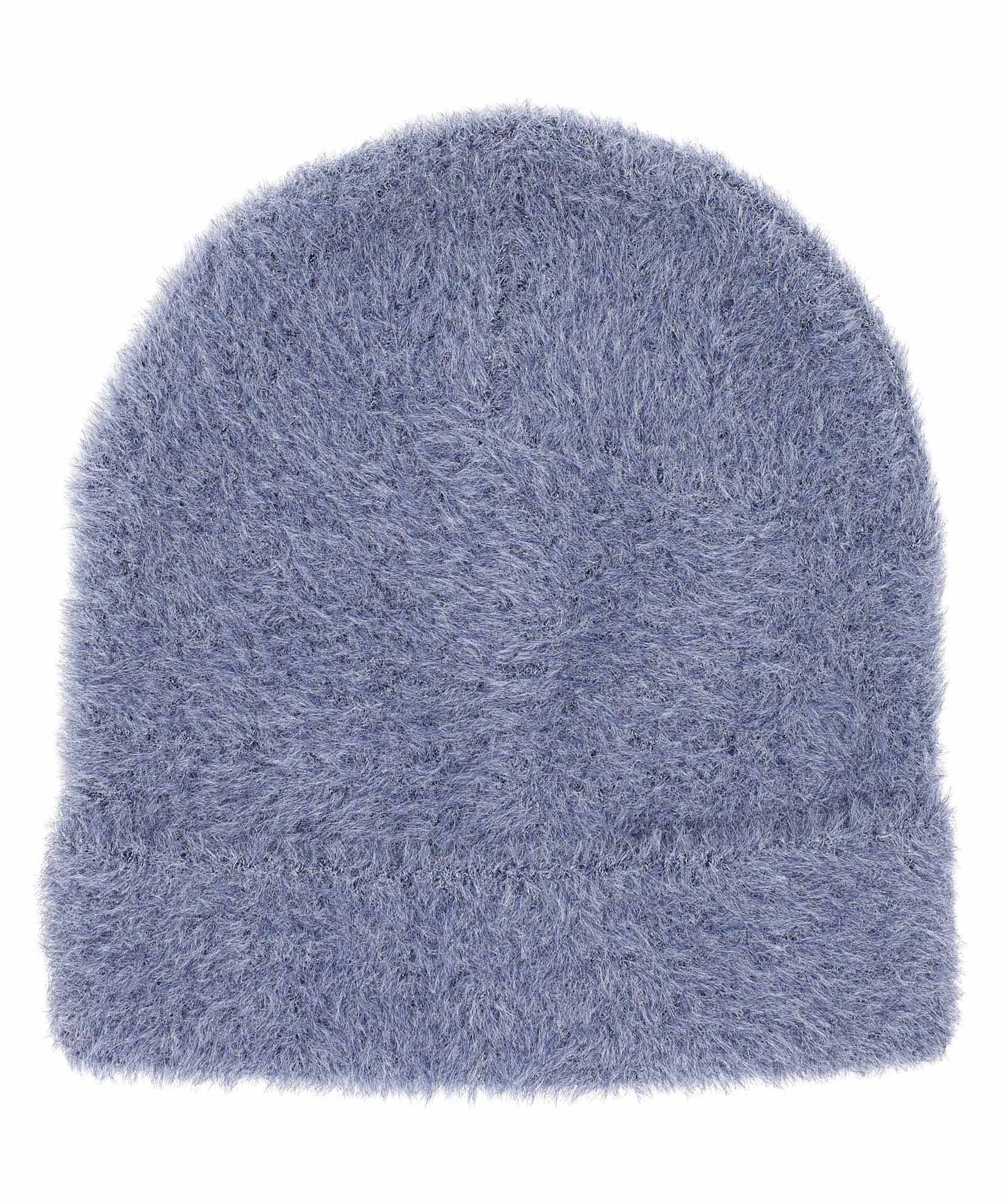 Navy - Brushed Furry Hat