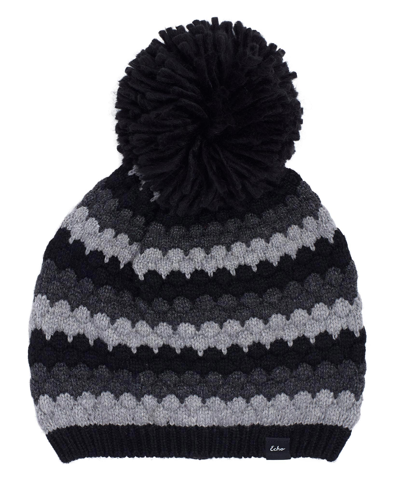 Black - Recycled Bubble Hat