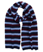 Navy - Recycled Bubble Scarf