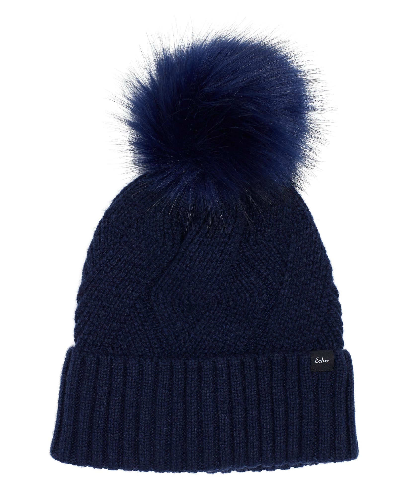 Navy - Recycled Cable Hat