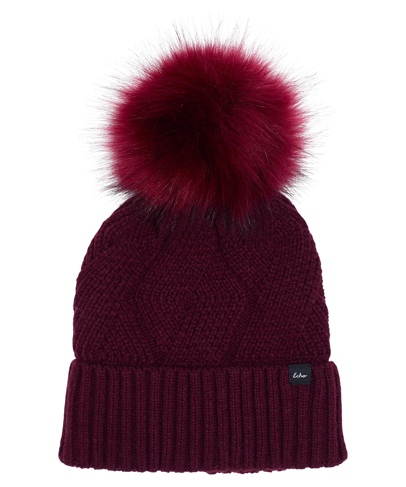 Garnet - Recycled Cable Hat
