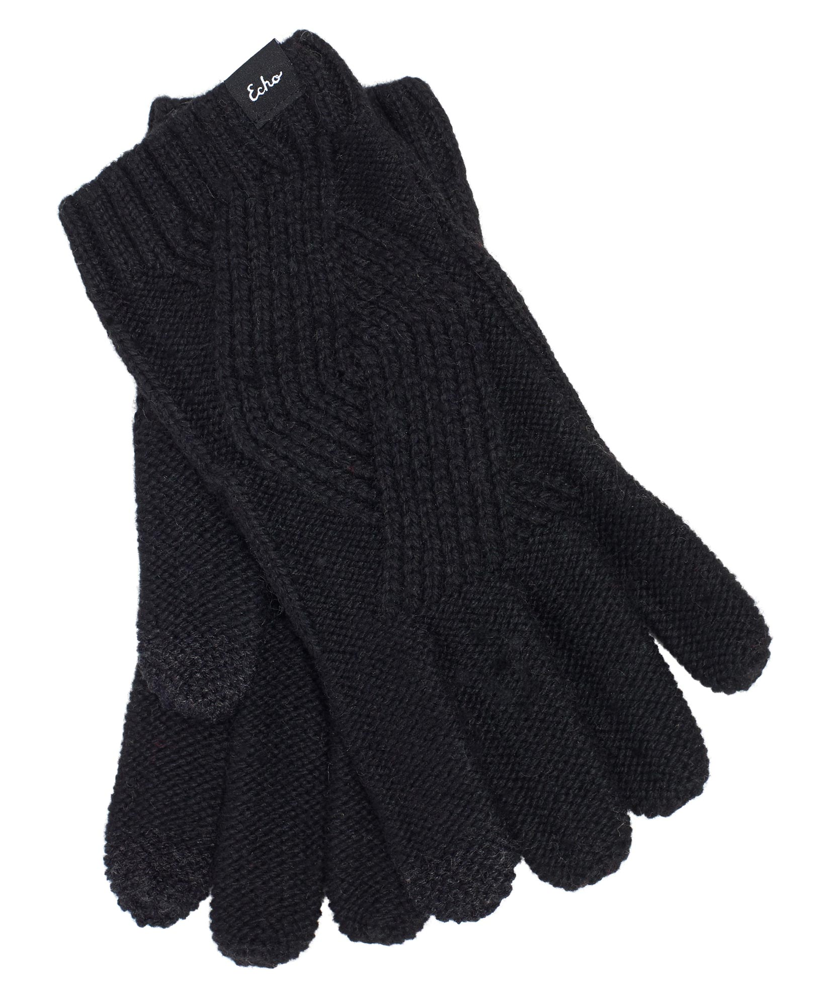 Black - Recycled Cable Glove