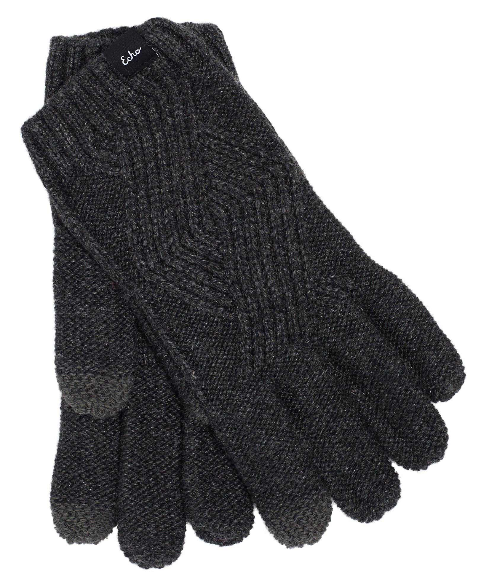 Charcoal - Recycled Cable Glove