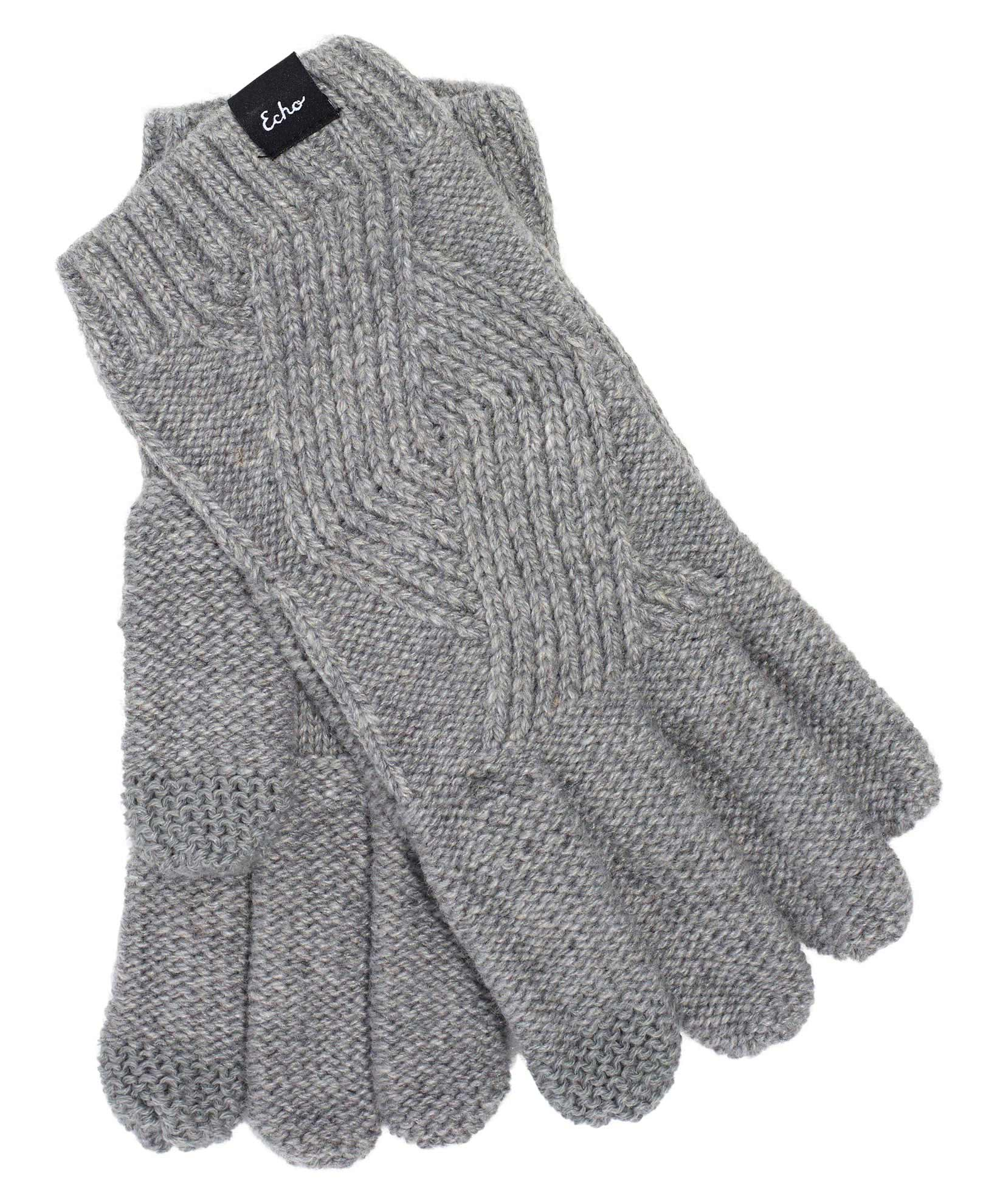 Silver - Recycled Cable Glove