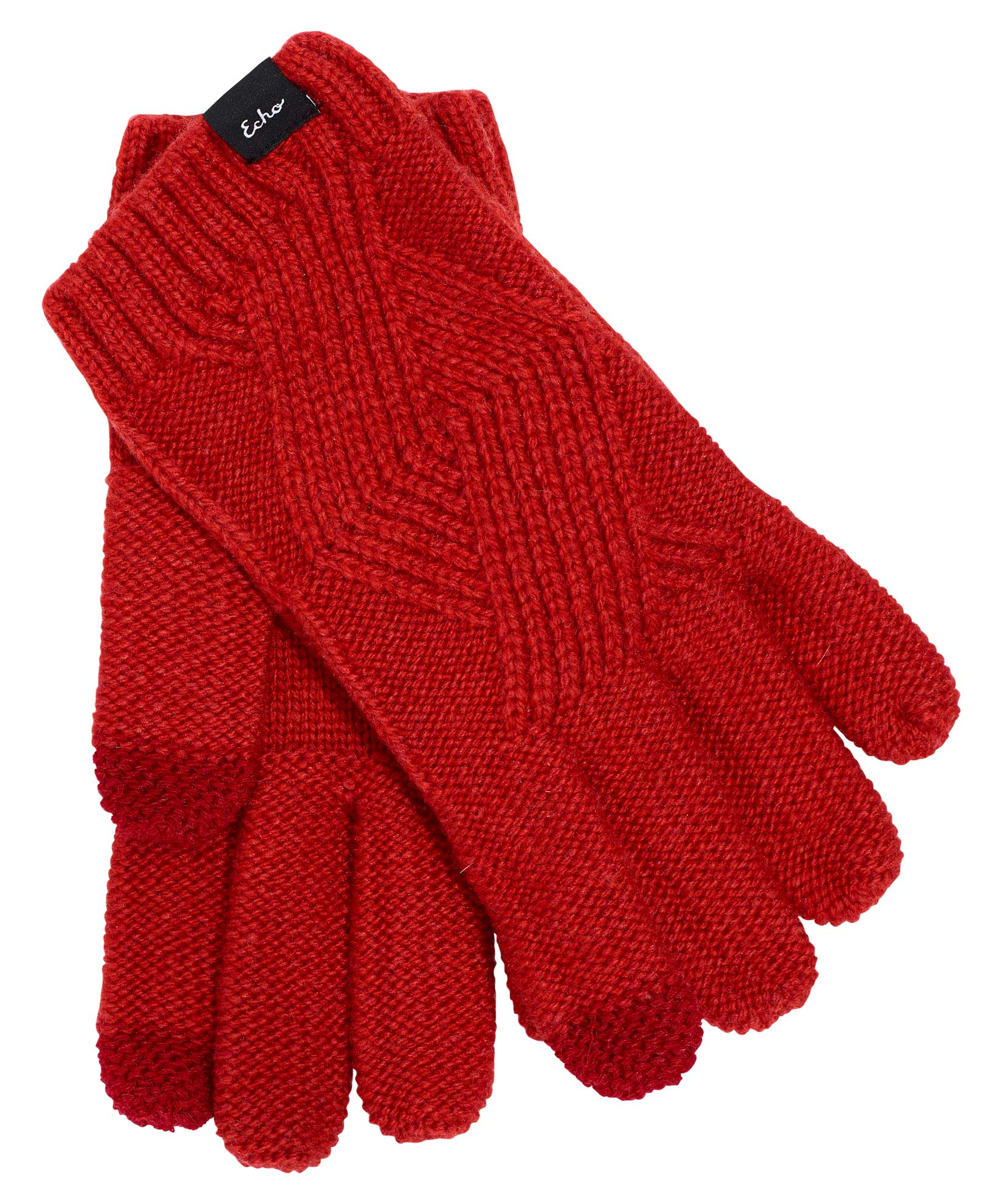 Ruby Red - Recycled Cable Glove
