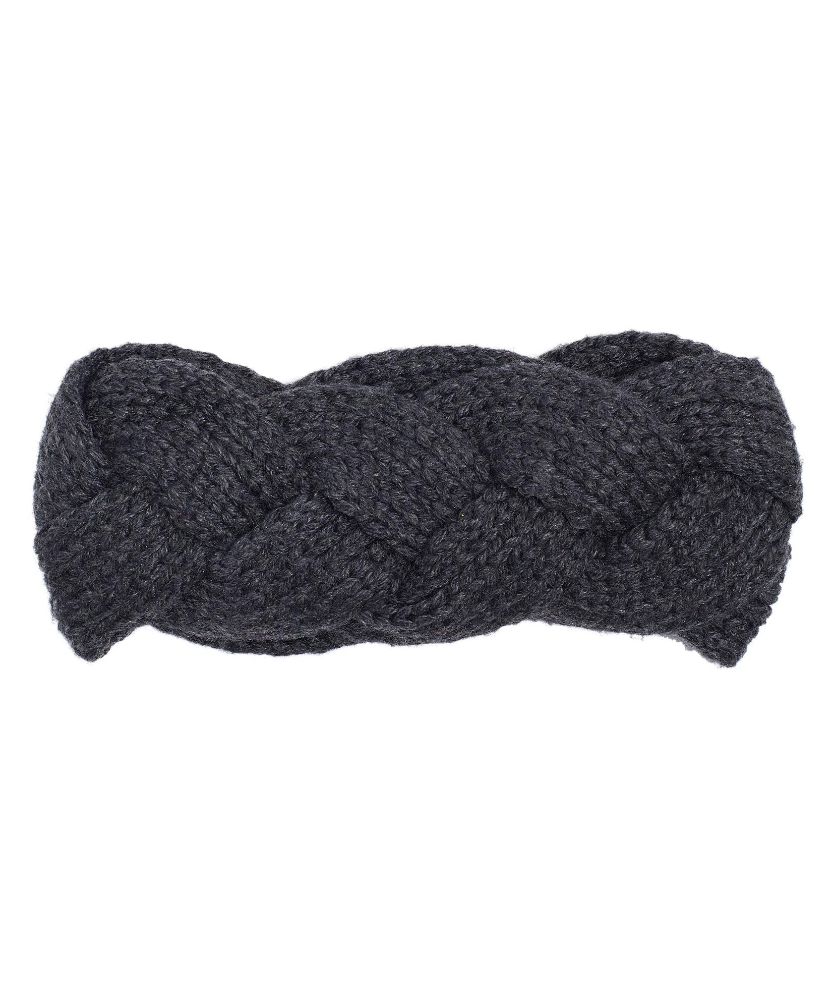 Charcoal - Recycled Cable Headband