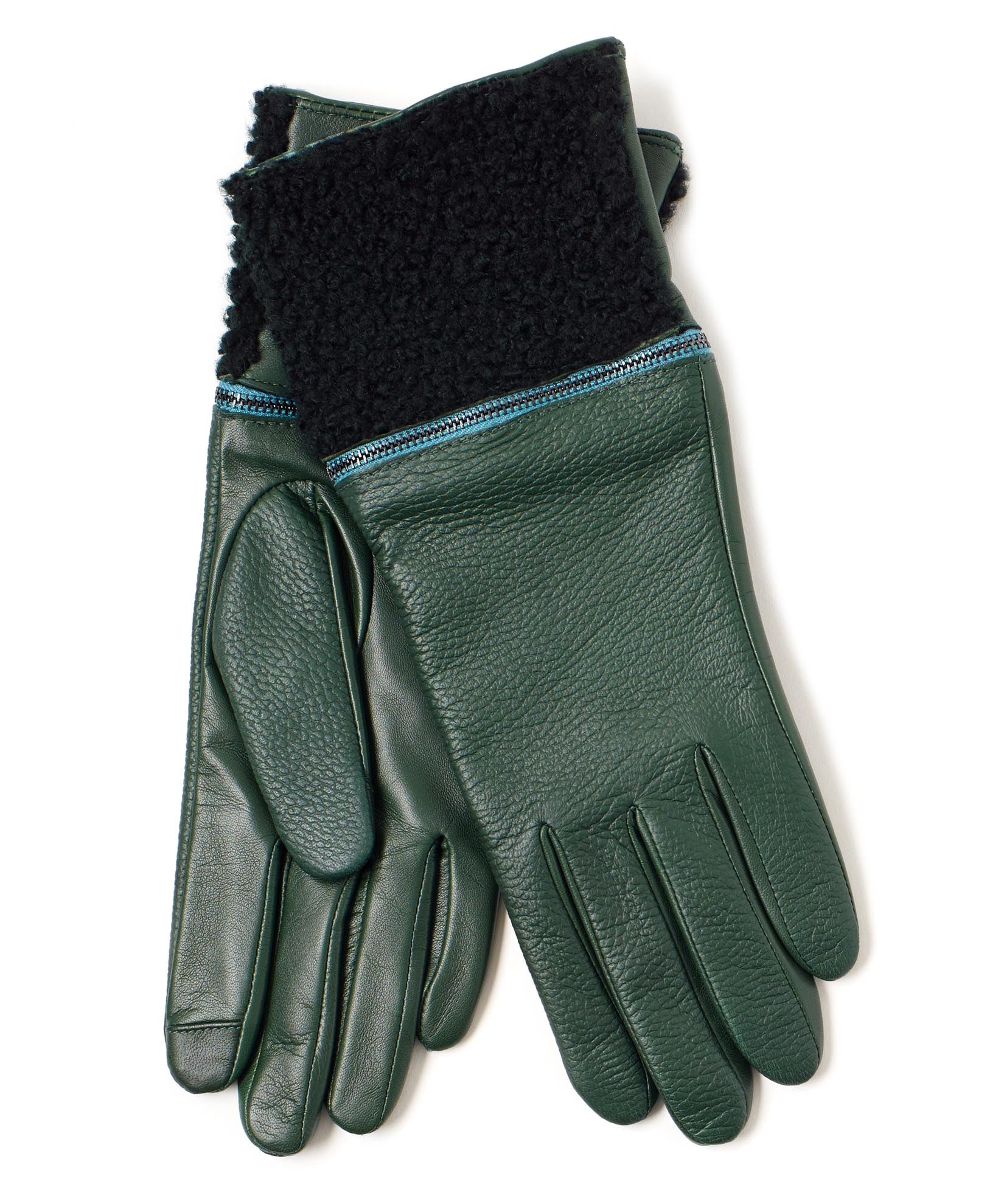 Ivy - Zip Off Shearling Glove