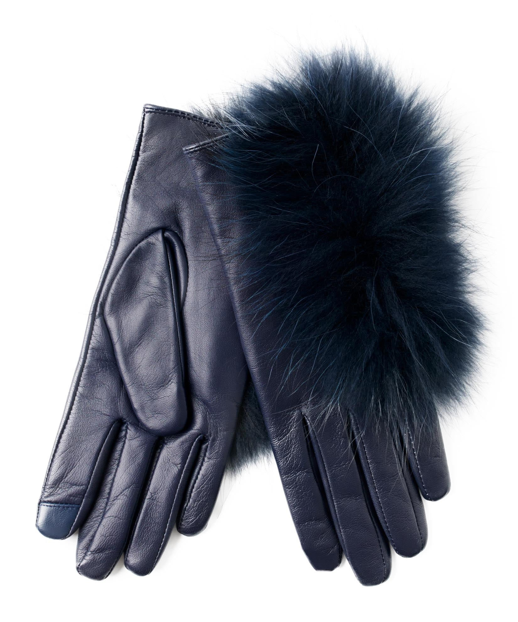 Maritime Navy - Raccoon Fur Glove
