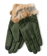 Ivy - Mountain Glove Rabbit Fur Cuff