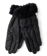 Black - Quilted Geo Glove