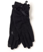 Black - Short Tie Glove