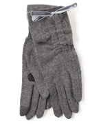 Heather Grey - Short Tie Glove