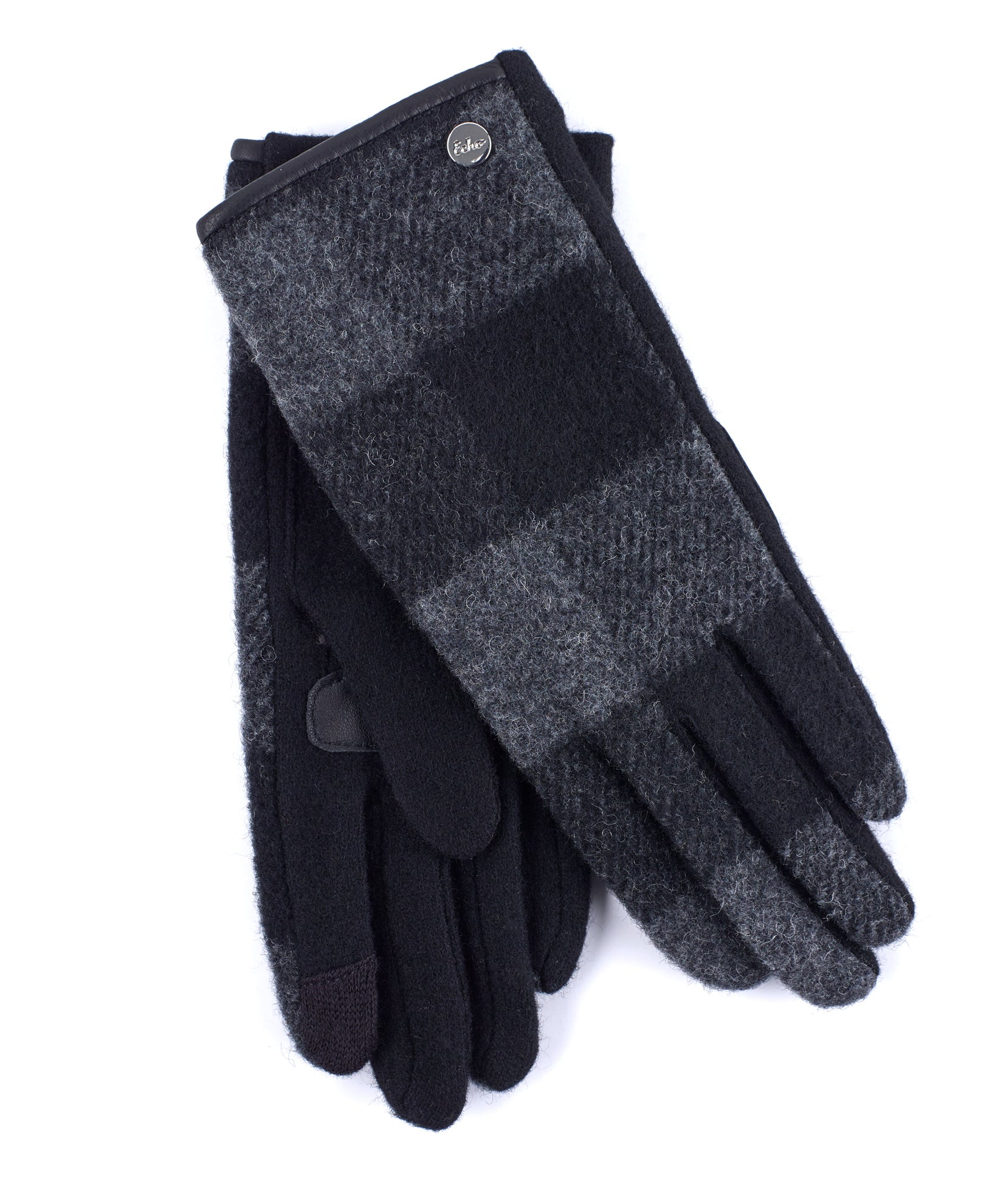 Black - Buffalo Plaid Glove
