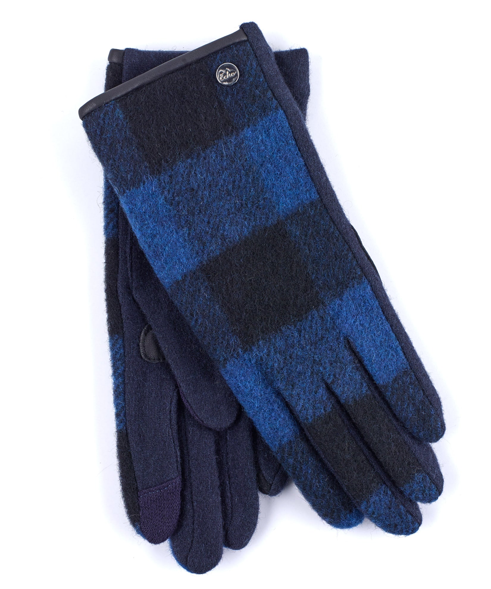 Echo Navy - Buffalo Plaid Glove