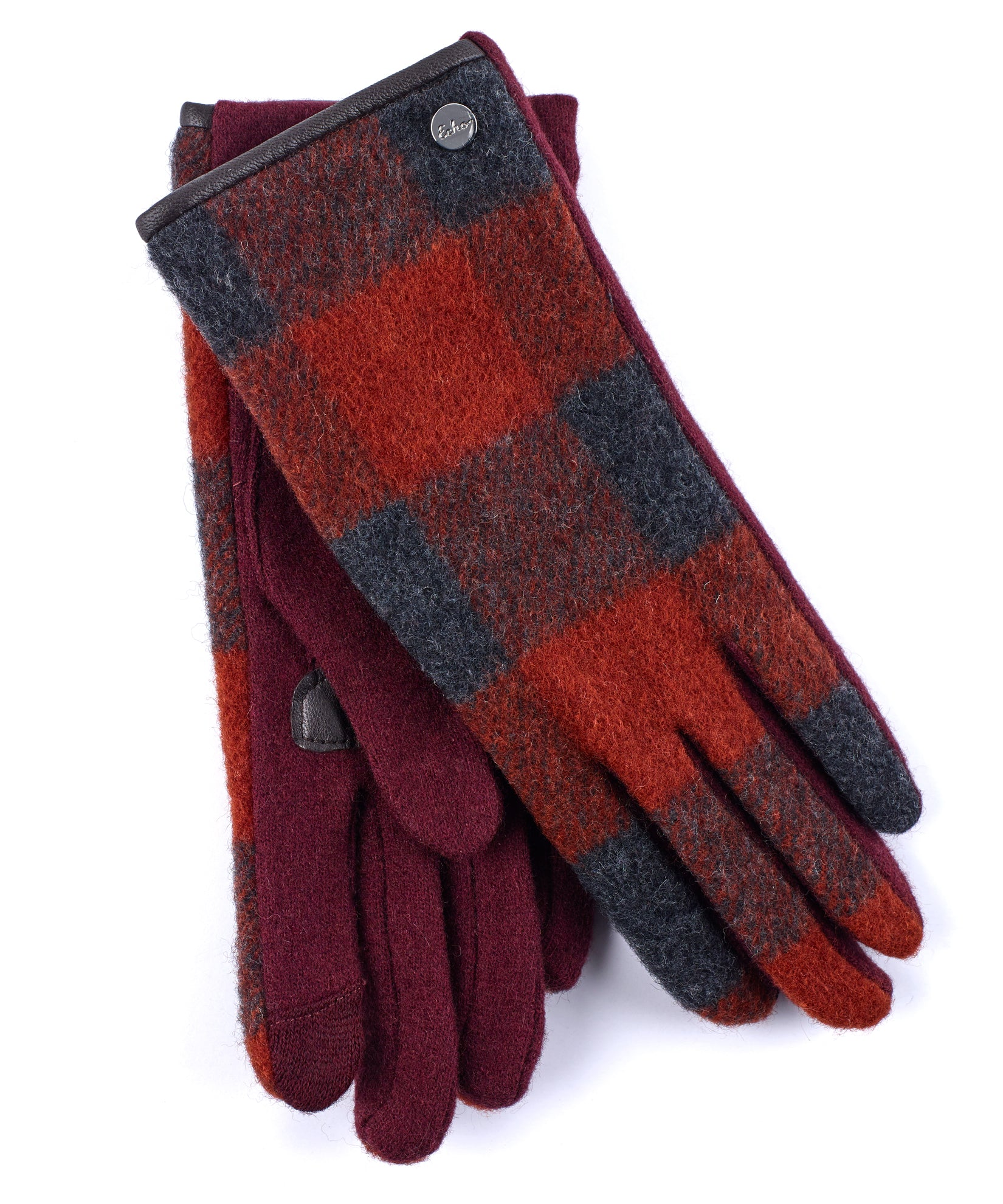 Garnet - Buffalo Plaid Glove