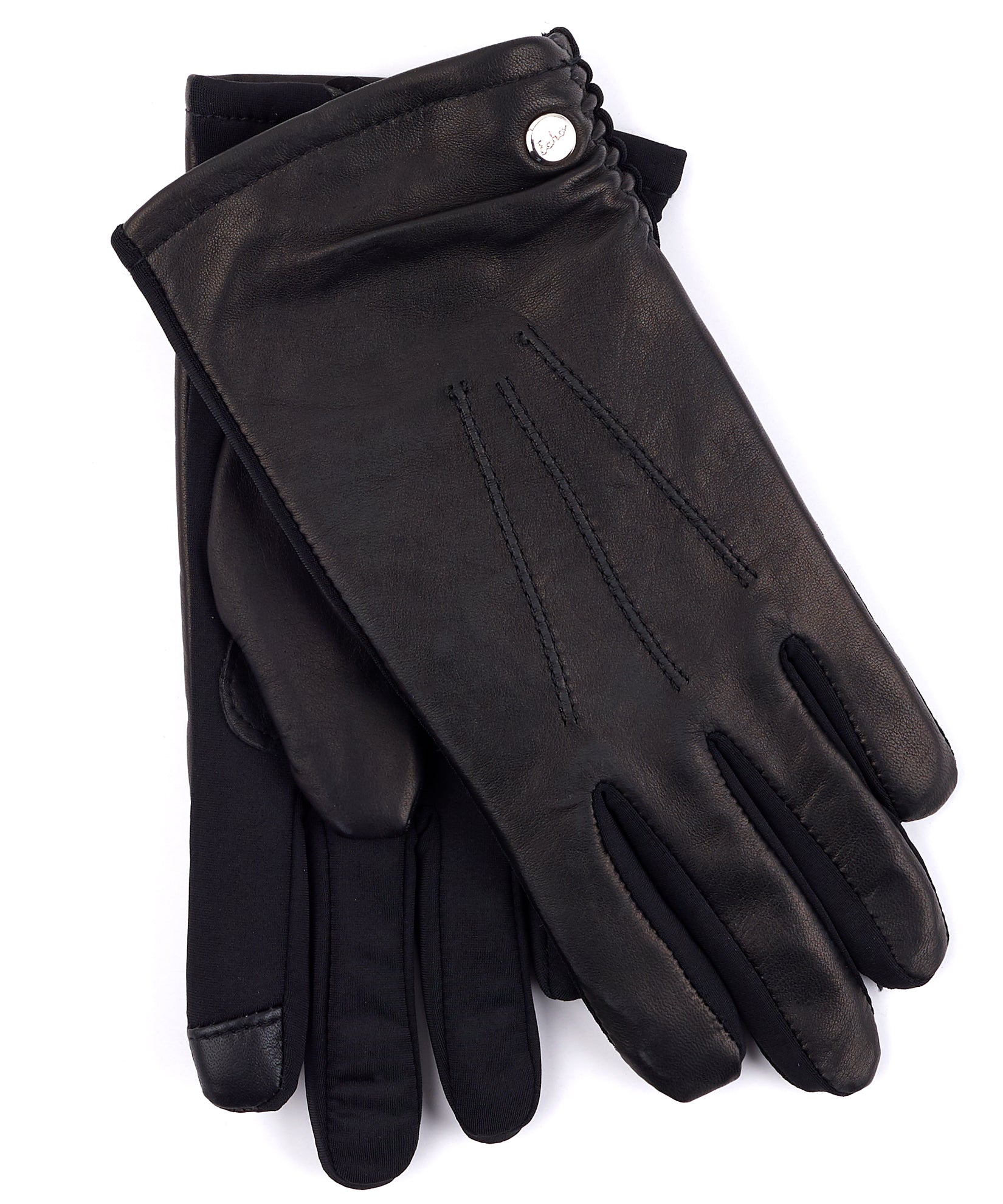 Echo Black - Classic Leather Superfit Glove