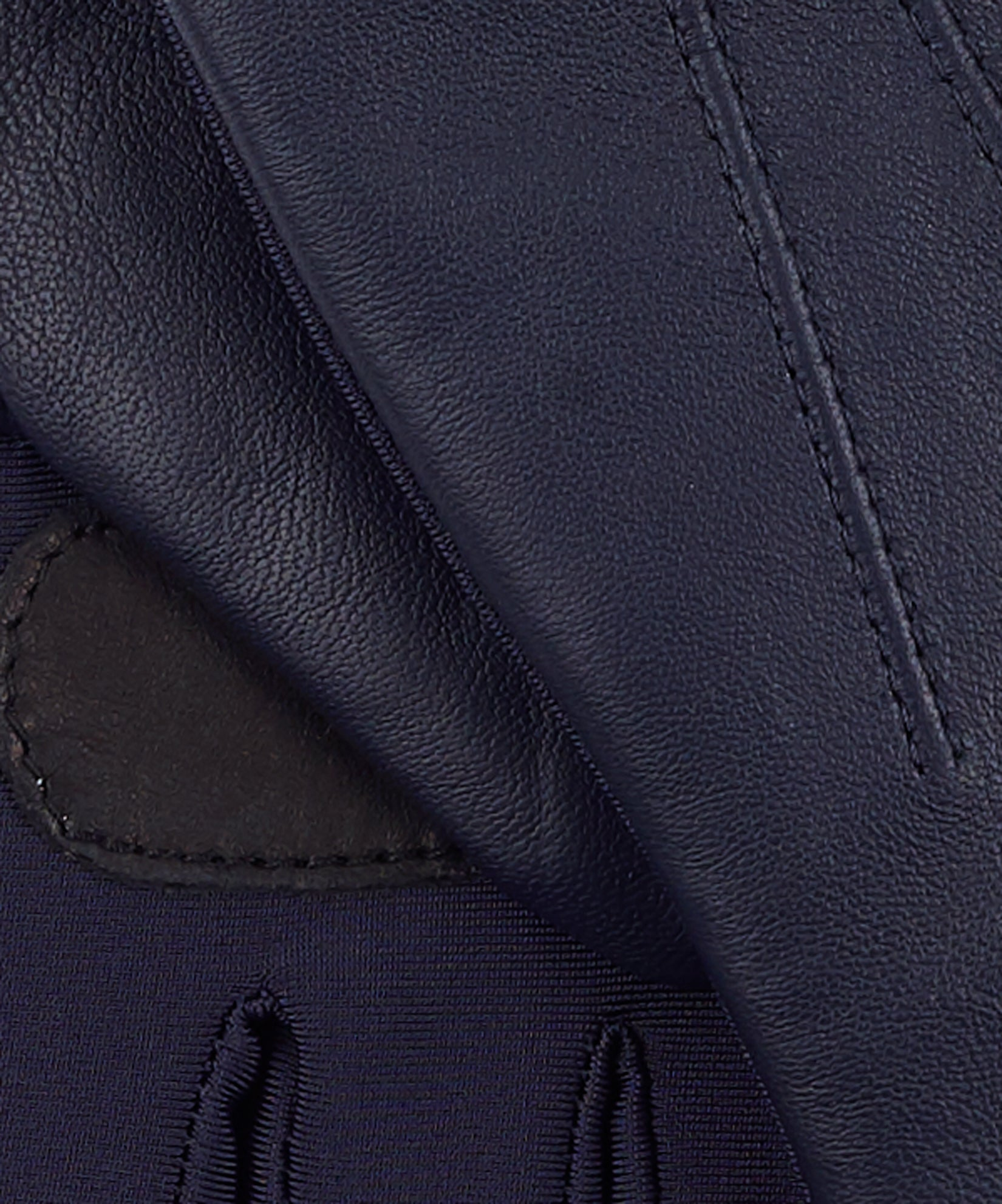 Echo Navy - Classic Leather Superfit Glove