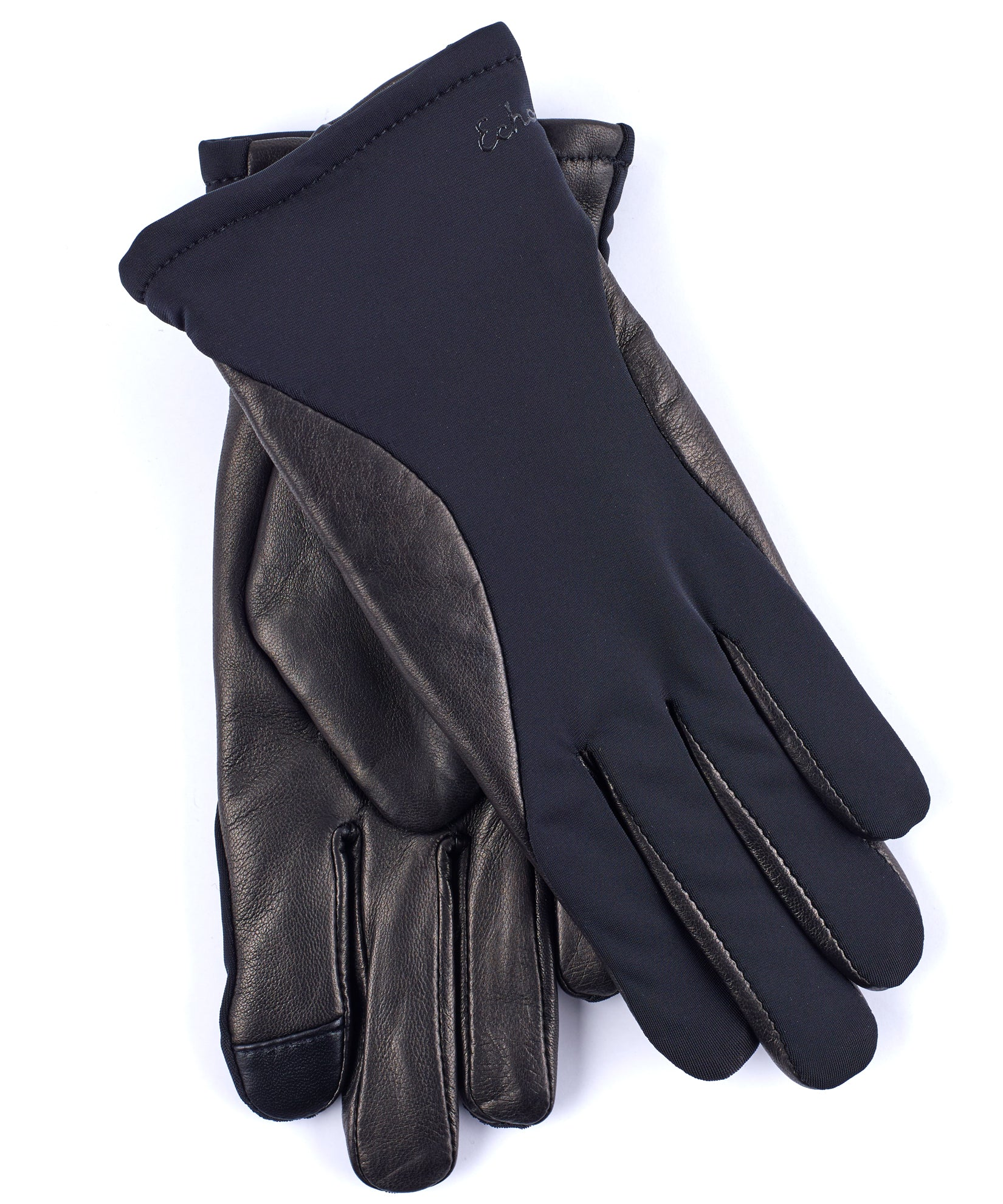 Echo Black - Contour Leather Superfit Glove